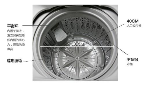 波轮洗衣机结构示意图